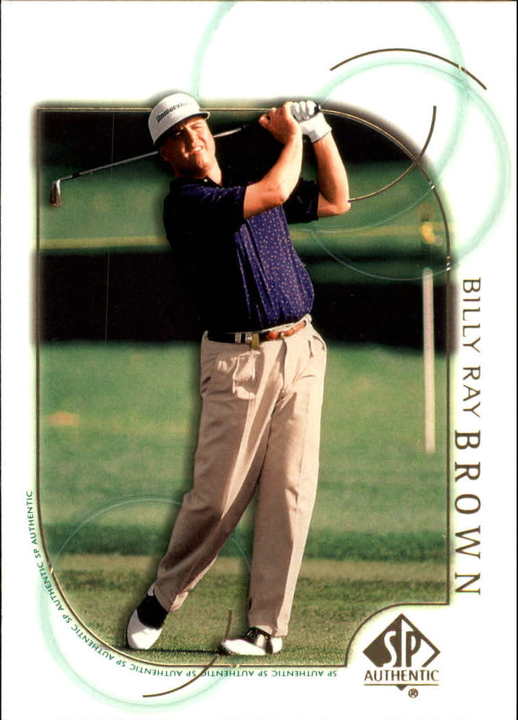 2001 SP Authentic #12 Billy Ray Brown