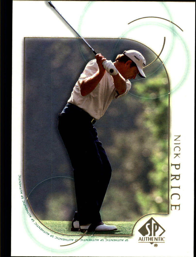 2001 SP Authentic #29 Nick Price