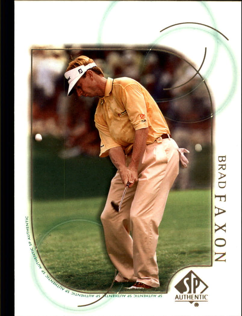 2001 SP Authentic #32 Brad Faxon