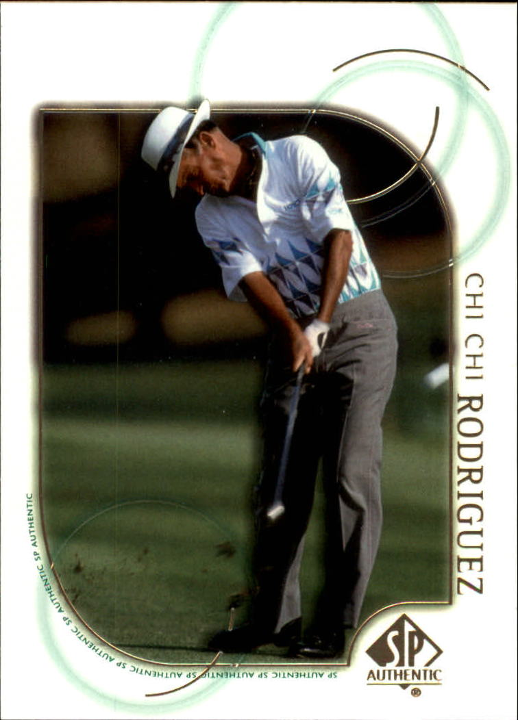 2001 SP Authentic #37 Chi Chi Rodriguez