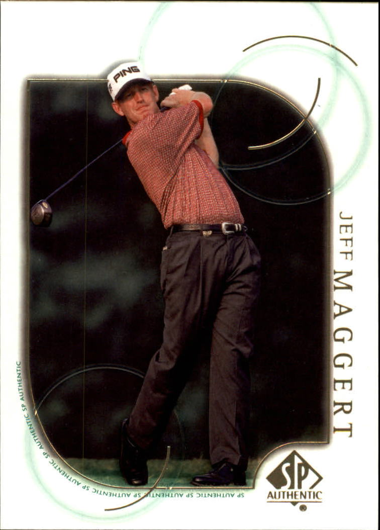 2001 SP Authentic #38 Jeff Maggert