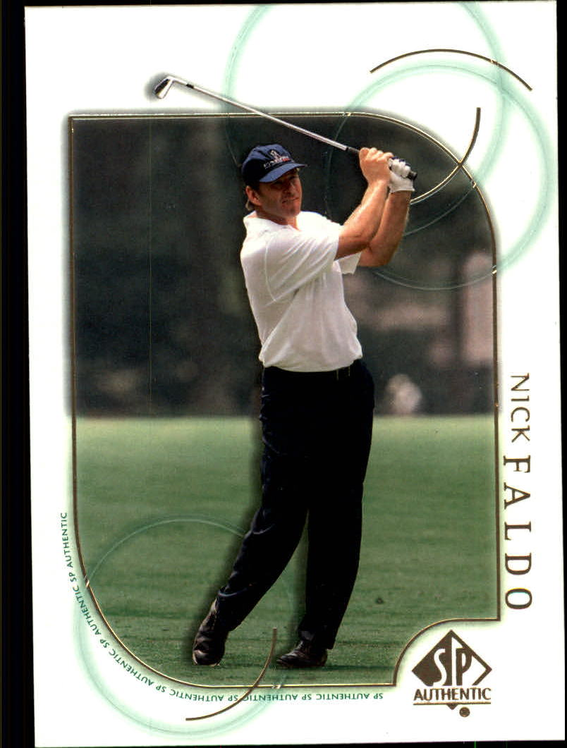 2001 SP Authentic #42 Nick Faldo