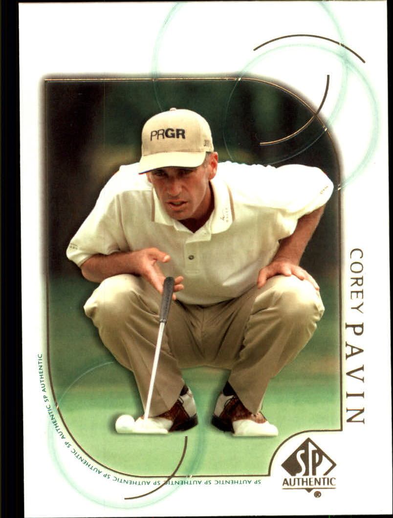 2001 SP Authentic #43 Corey Pavin