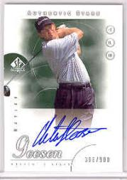 2001 SP Authentic #47 J.Parnevik AS AU/900 RC