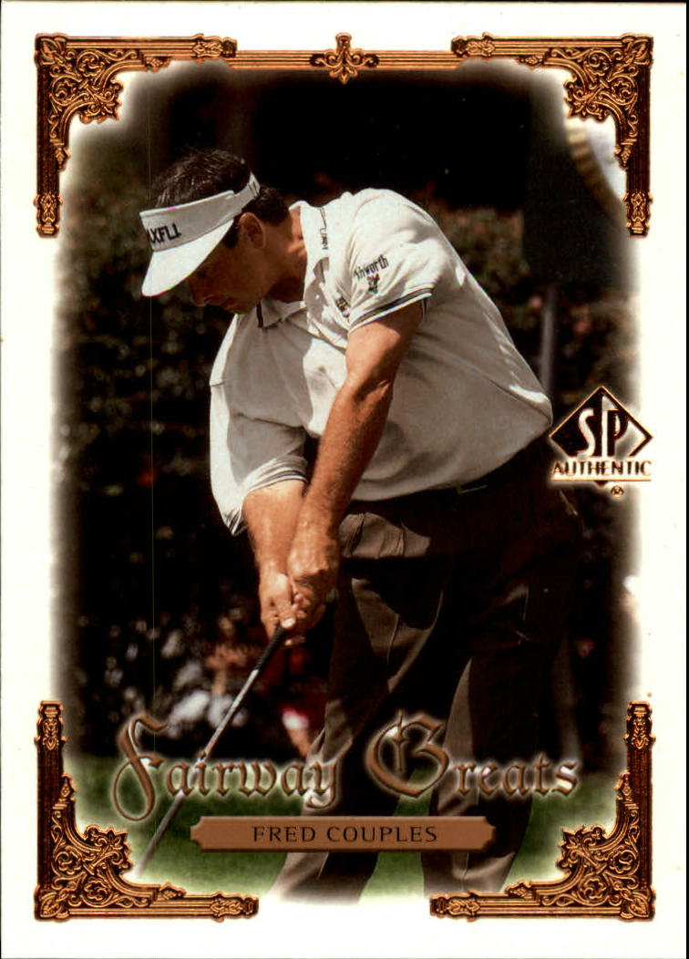 2001 SP Authentic #94 Fred Couples FG