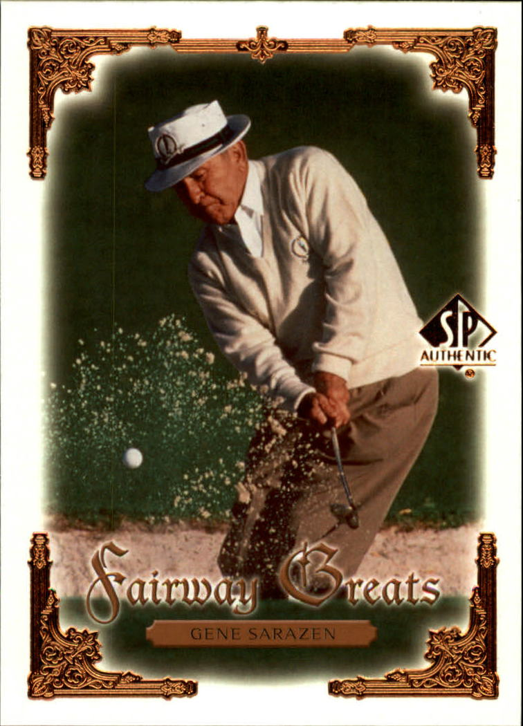2001 SP Authentic #96 Gene Sarazen FG