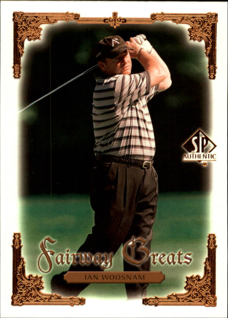 2001 SP Authentic #98 Ian Woosnam FG