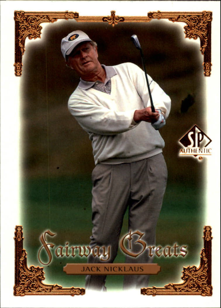 2001 SP Authentic #99 Jack Nicklaus FG