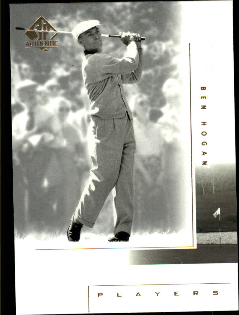 2001 SP Authentic #109 Ben Hogan MP