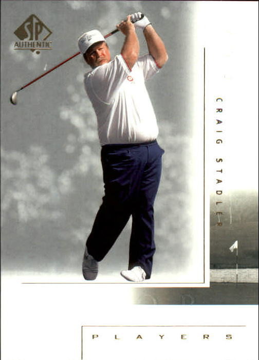 2001 SP Authentic #111 Craig Stadler MP
