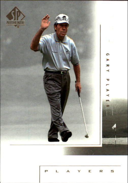 2001 SP Authentic #113 Gary Player MP