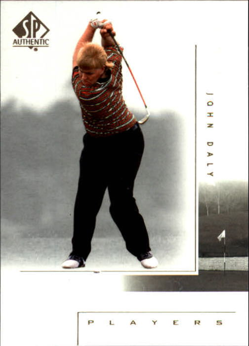 2001 SP Authentic #120 John Daly MP