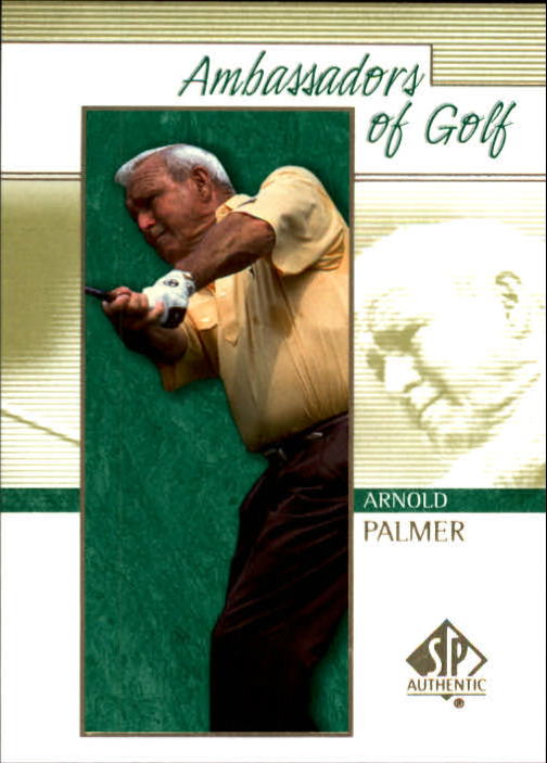 2001 SP Authentic #126 Arnold Palmer AG