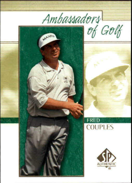 2001 SP Authentic #128 Fred Couples AG