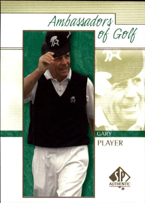 2001 SP Authentic #129 Gary Player AG