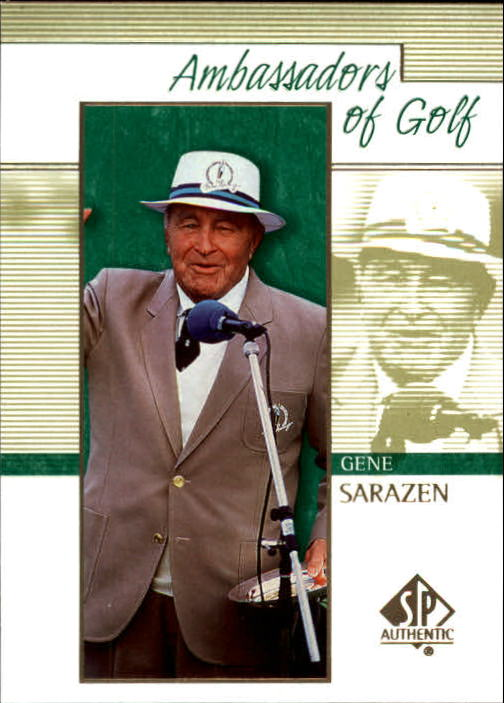 2001 SP Authentic #130 Gene Sarazen AG