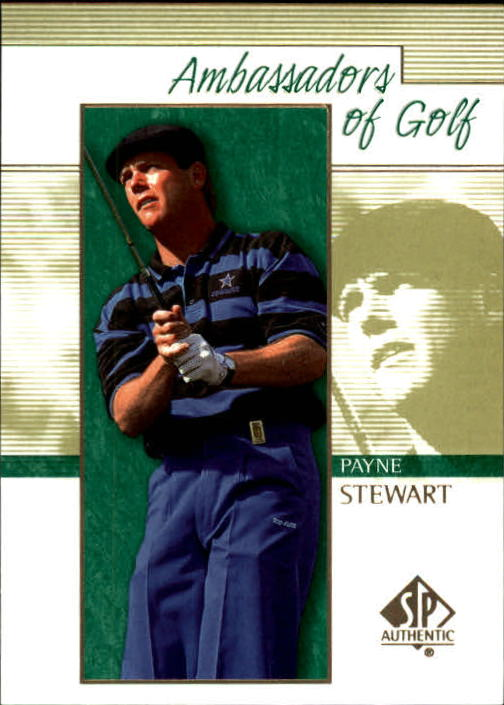 2001 SP Authentic #133 Payne Stewart AG