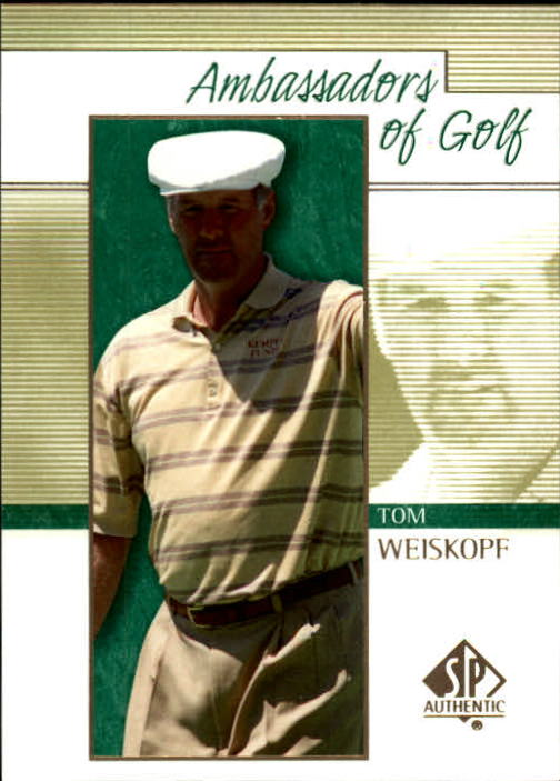 2001 SP Authentic #134 Tom Weiskopf AG