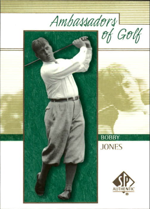 2001 SP Authentic #135 Bobby Jones AG