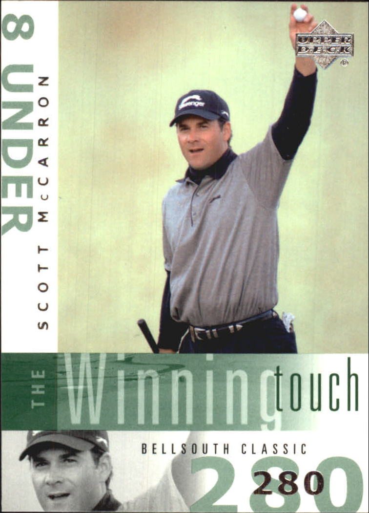 2002 Upper Deck Winning Touch #WT2 Scott McCarron