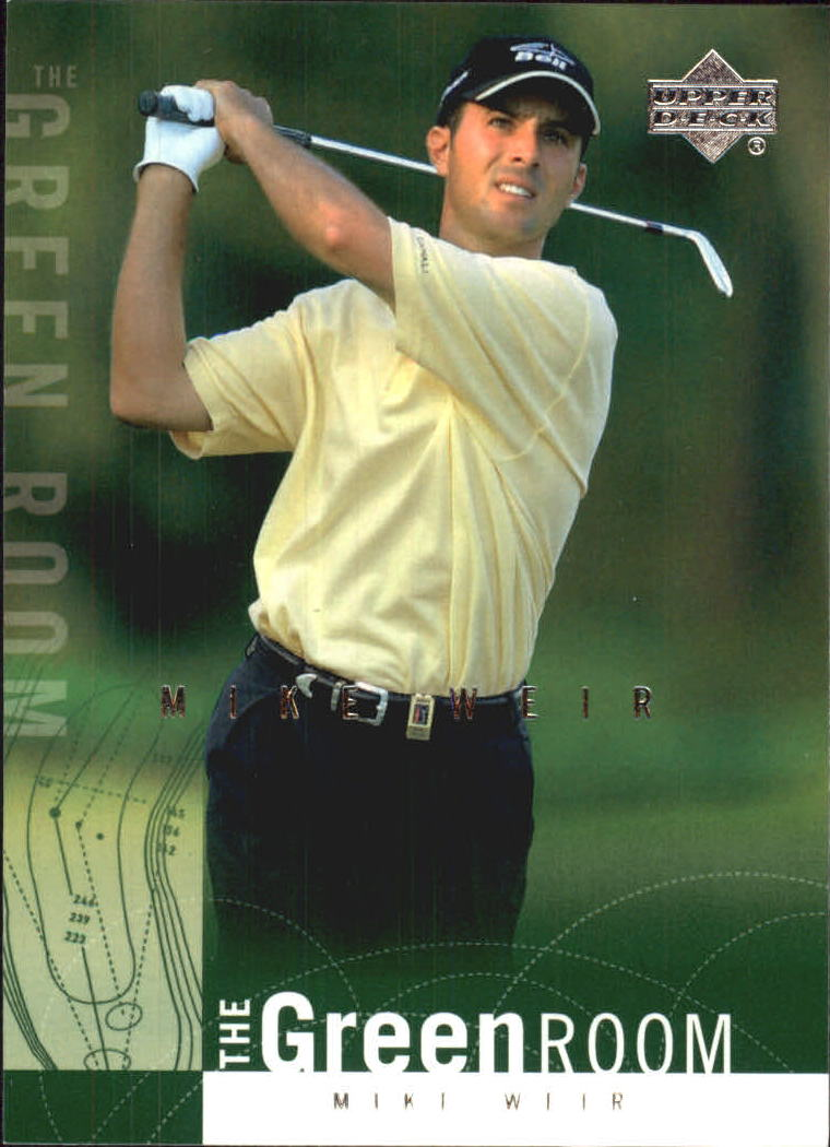 2002 Upper Deck Green Room #GR7 Mike Weir