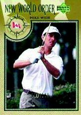 2002 Upper Deck Gold #73 Mike Weir NWO