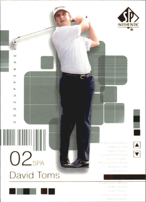 2002 SP Authentic #9 David Toms