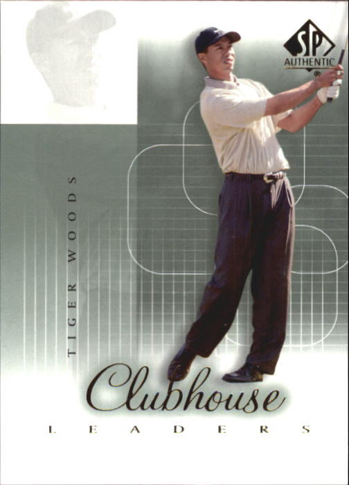 2002 SP Authentic #56 Tiger Woods CHL