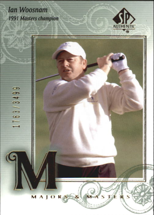 2002 SP Authentic #120 Ian Woosnam MM