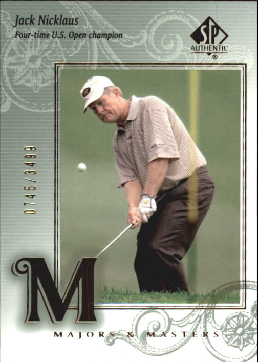 2002 SP Authentic #123 Jack Nicklaus MM
