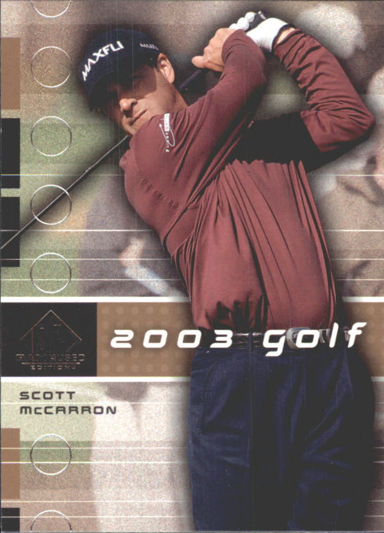 2003 SP Game Used #12 Scott McCarron