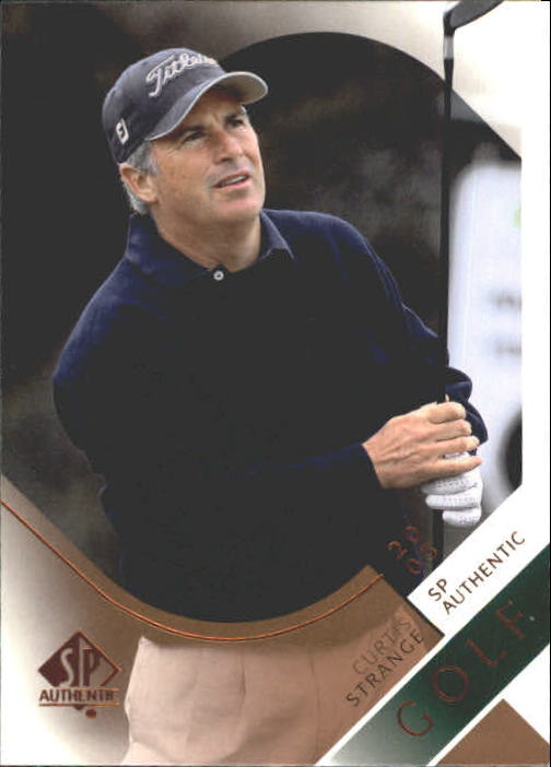 2003 SP Authentic #32 Curtis Strange