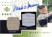 2003 Upper Deck Golf Gear Birdie Autographs #MO Mark O'Meara