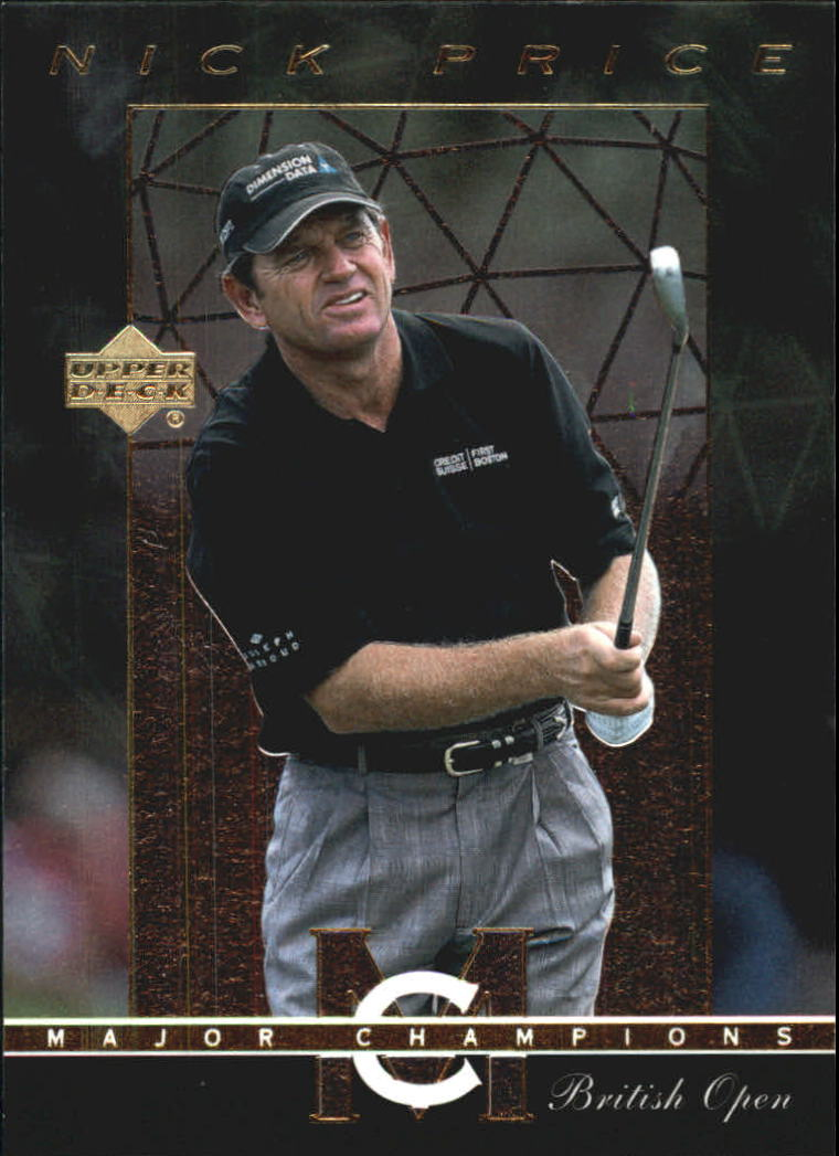 2003 Upper Deck Major Champions #19 Nick Price 94 British