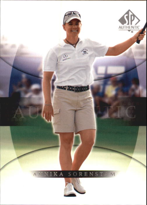 2004 SP Authentic #2 Annika Sorenstam