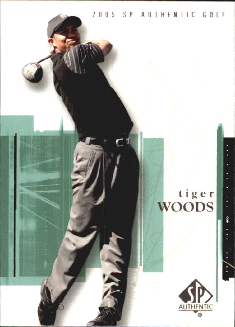 2005 SP Authentic #1 Tiger Woods