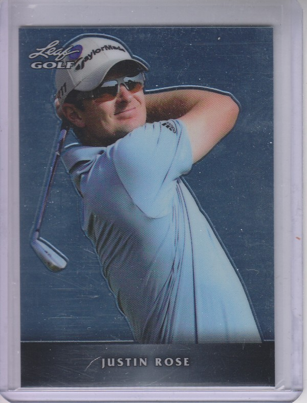 2011 Leaf Golf Metal #MJR1 Justin Rose