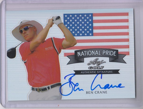 2011 Leaf Golf Metal National Pride Autographs #NPBC1 Ben Crane