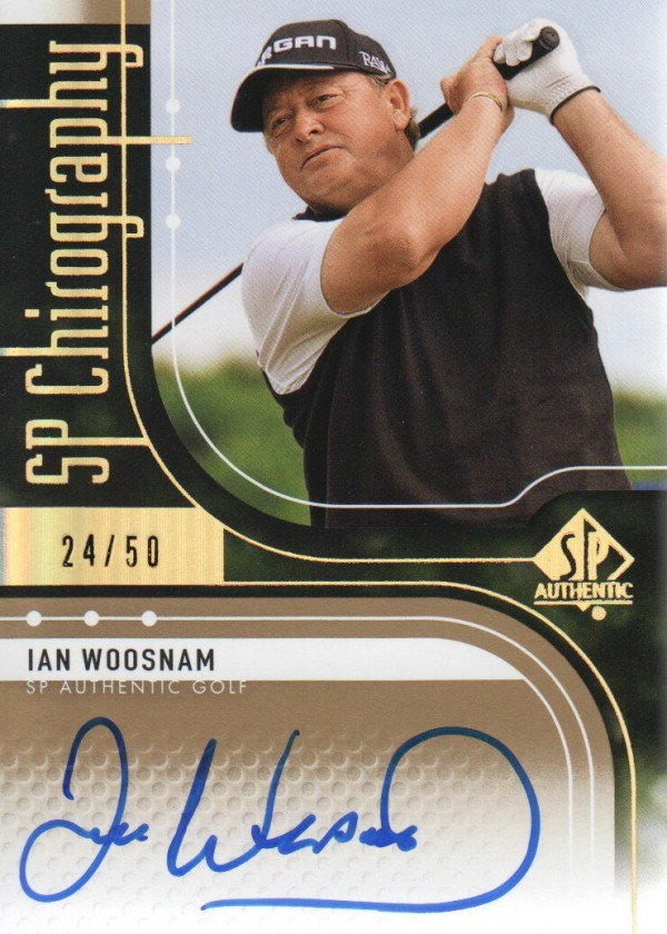 2012 SP Authentic Chirography #CIW Ian Woosnam/50