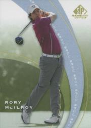 2012 SP Game Used #SP1 Rory McIlroy SP