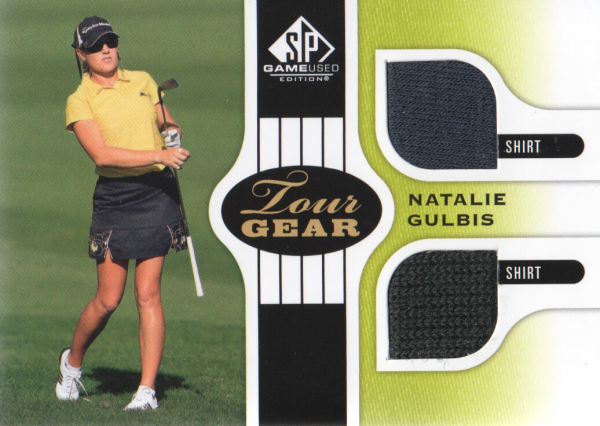 2012 SP Game Used Tour Gear #TGNG Natalie Gulbis B