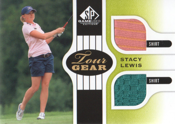 2012 SP Game Used Tour Gear #TGSL Stacy Lewis C