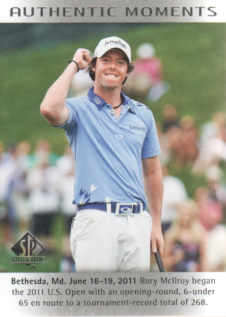 2014 SP Authentic #53 Rory McIlroy AM