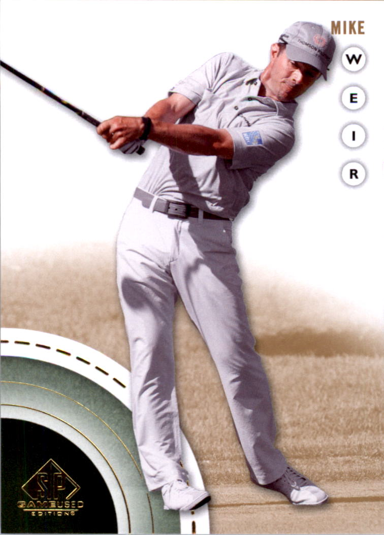 2014 SP Game Used #18 Mike Weir