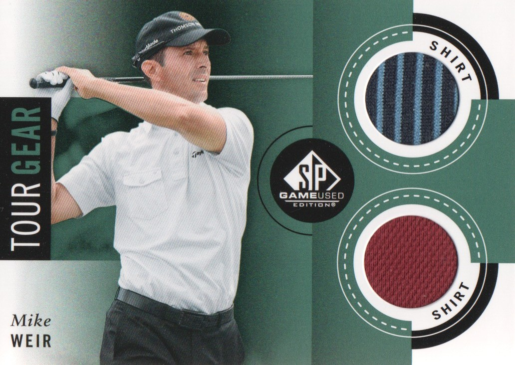 2014 SP Game Used Tour Gear #TGWE Mike Weir C