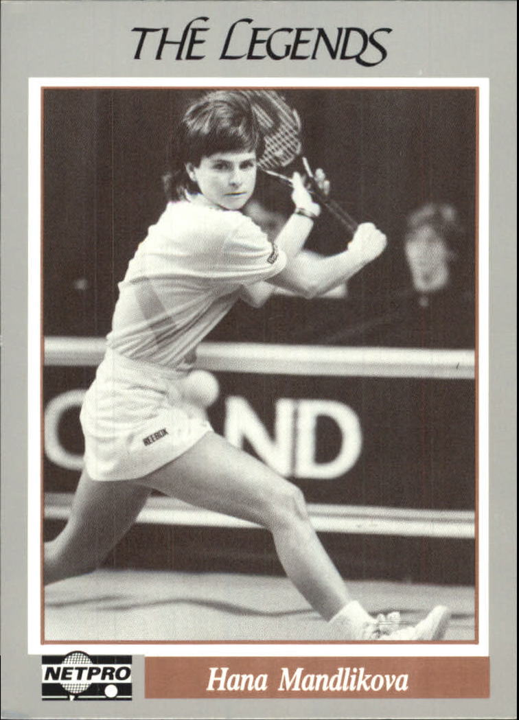 1991 NetPro Legends #1 Hana Mandlikova RC