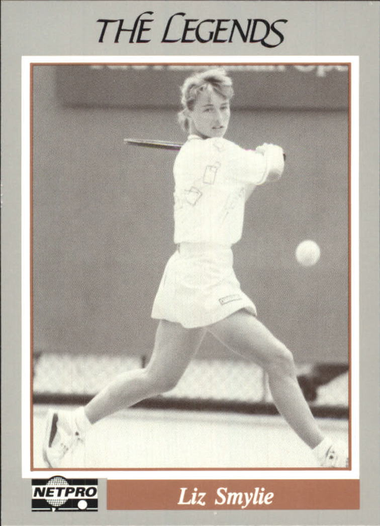 1991 NetPro Legends #3 Liz Smylie RC