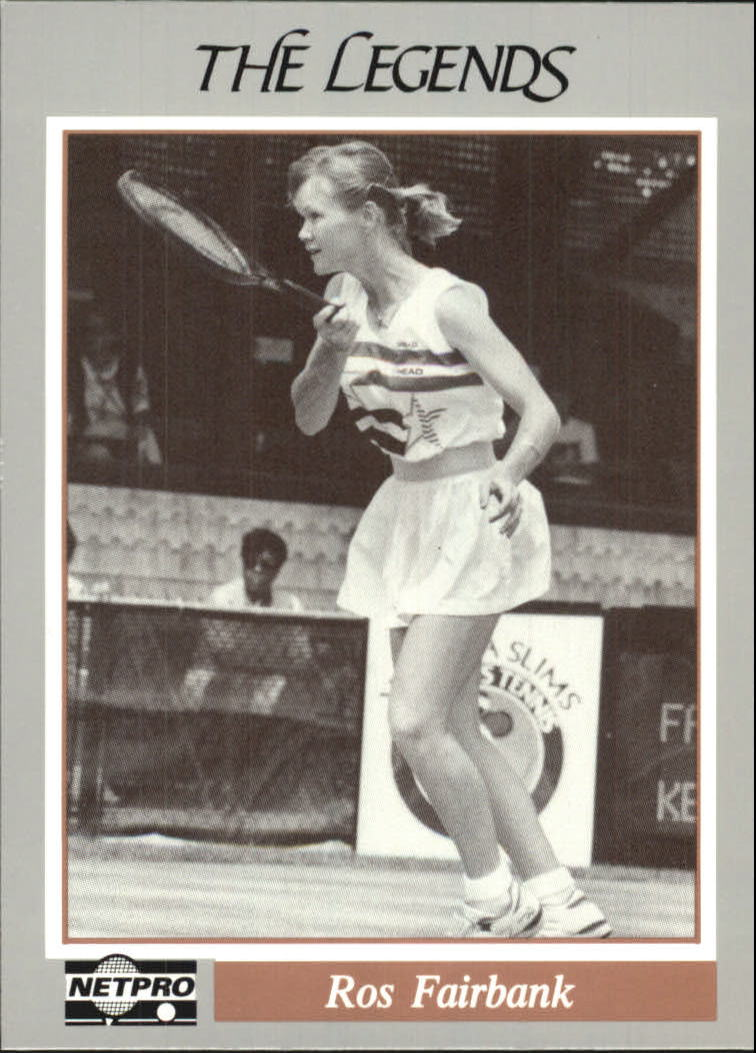 1991 NetPro Legends #4 Rosalyn Fairbank RC