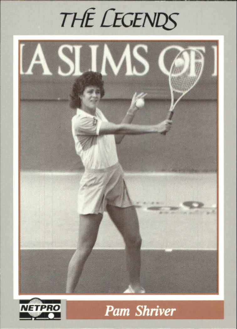 1991 NetPro Legends #13 Pam Shriver RC