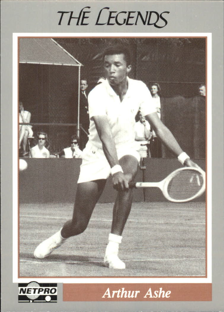 1991 NetPro Legends #17 Arthur Ashe RC